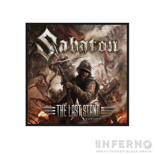 Sabaton - The Last Stand Szövött felvarró