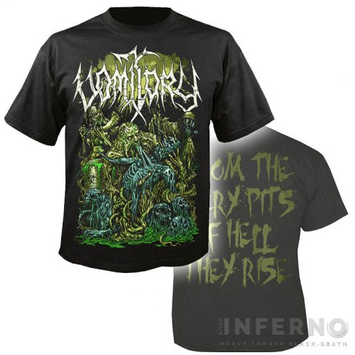 Vomitory - From The Fiery Pits Póló