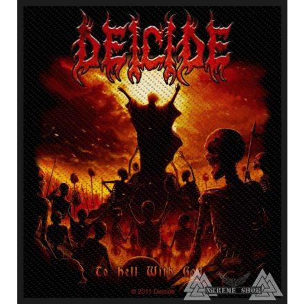 Deicide - To Hell With God Szövött felvarró
