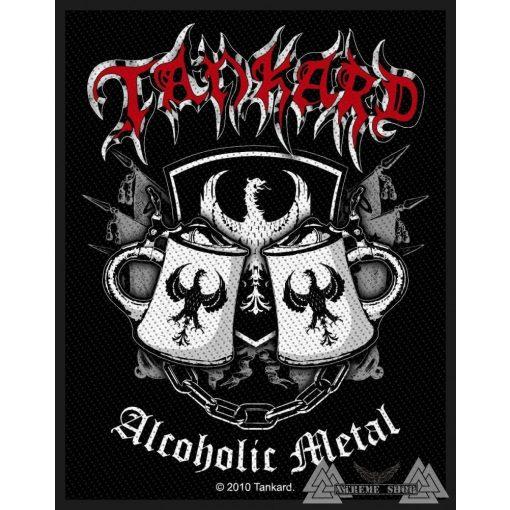 Tankard - Alcoholic Metal Szövött felvarró