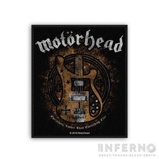 Motorhead - Lemmy's Bass Szövött felvarró
