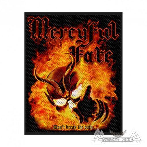 Mercyful Fate - Don't Break The Oath Szövött felvarró