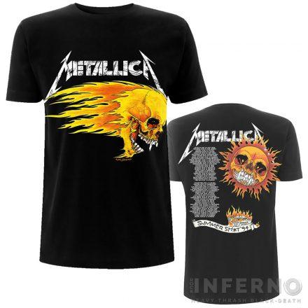 Metallica - Flaming Skull Tour 94 póló