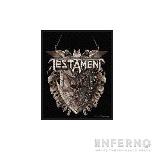 Testament - Shield Szövött felvarró