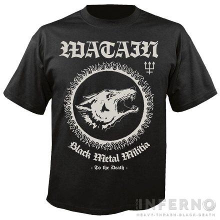 Watain - Black Metal Militia póló