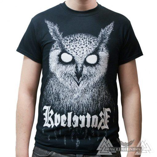KVELERTAK - BARLETT OWL BLACK PÓLÓ