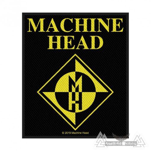 Machine Head - Diamond Logo Szövött felvarró