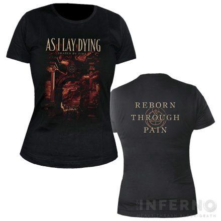 As I Lay Dying - Shaped by Fire Női póló