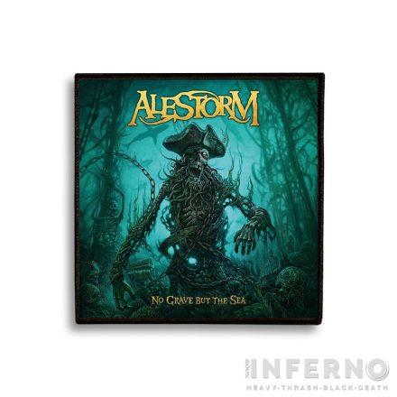 Alestorm - No Grave but The Sea Szövött felvarró