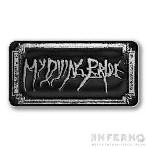 My Dying Bride - Logo fém kitűző
