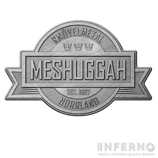MESHUGGAH - CREST FÉM KITŰZŐ