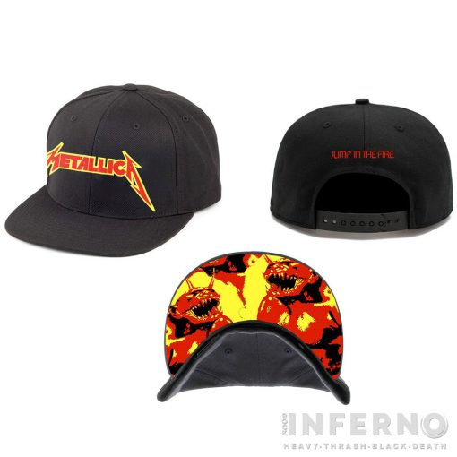 METALLICA - JUMP IN THE FIRE SNAPBACK