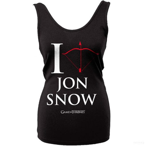 Game of Thrones - I Love Jon Snow Női top