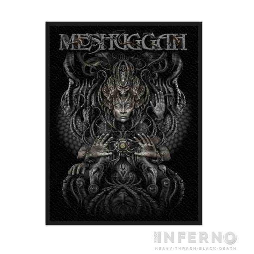 Meshuggah - Musical Deviance szövött felvarró