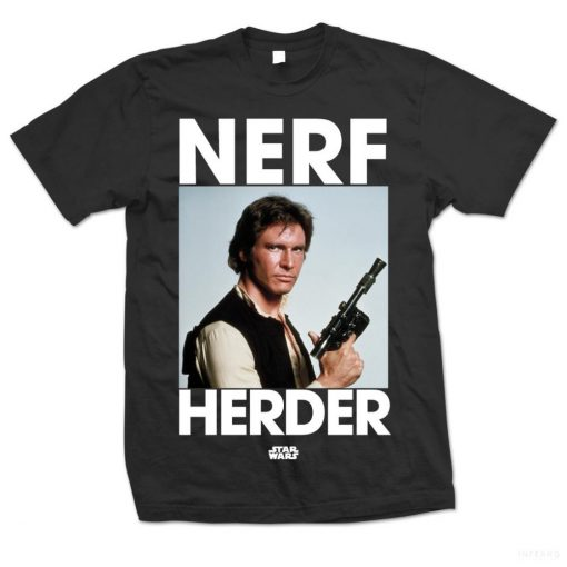 Star Wars - Han Solo Nerf Herder Póló