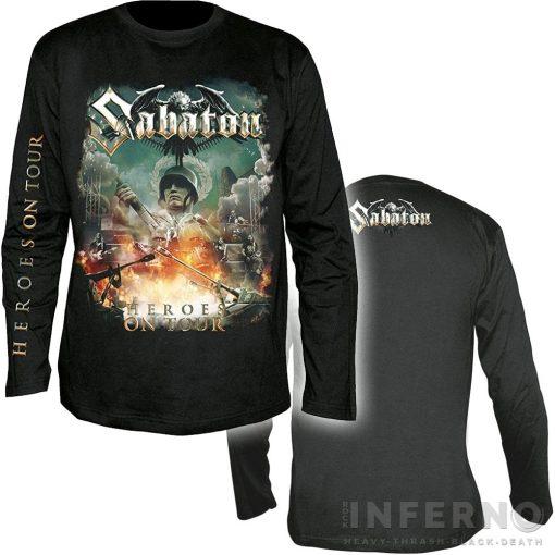 SABATON - Heroes on tour Hosszú ujjú póló