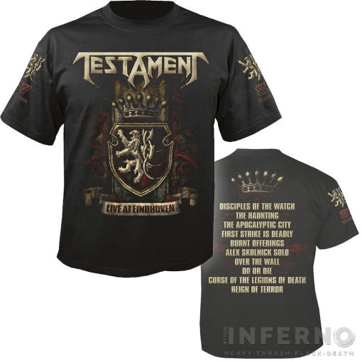 Testament - Eindhoven Póló