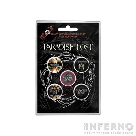 Paradise Lost - Crown Of Thorns Kitűző szett