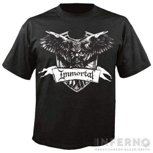 IMMORTAL - Crest Póló
