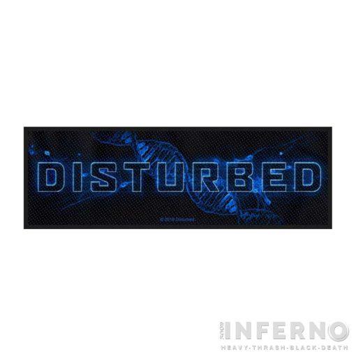 Disturbed - Blue Blood Szövött felvarró
