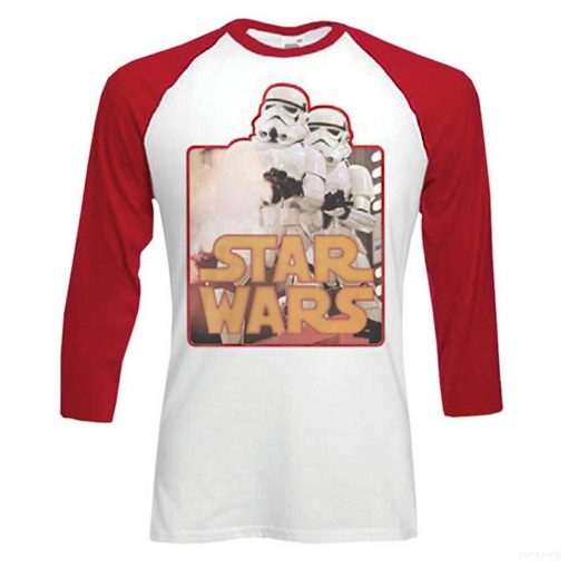 Star Wars - Storm Troopers Retro baseball póló