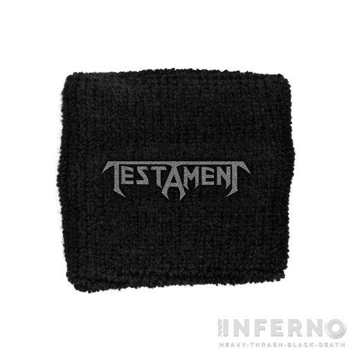 Testament - Logo Csuklószorító