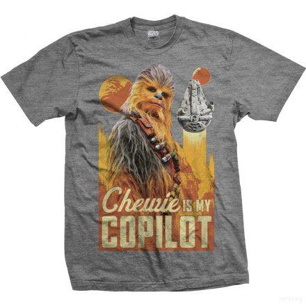 Star Wars - Chewie is my Co-Pilot póló
