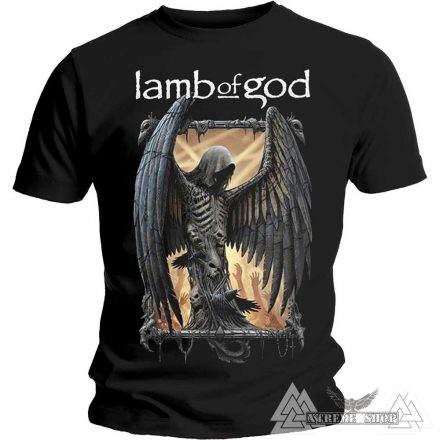 LAMB OF GOD - WINGED DEATH PÓLÓ