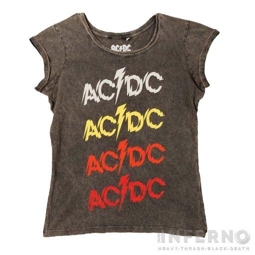 AC/DC - Powerage Savmosott női póló