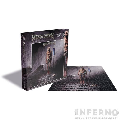 Megadeth - Countdown to Extinction 500 darabos puzzle