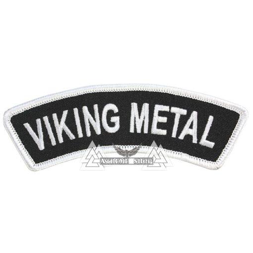Viking Metal Szövött felvarró