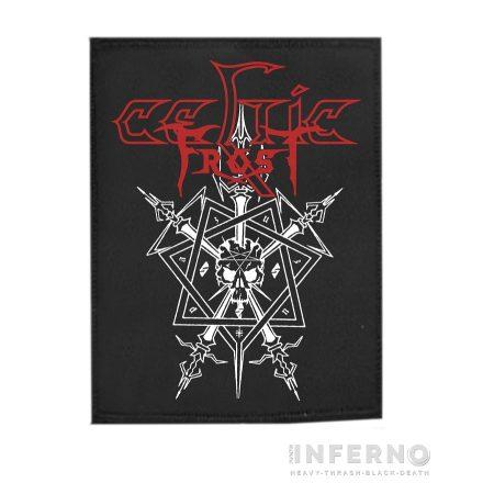 Celtic Frost - Morbid Tales Szövött felvarró