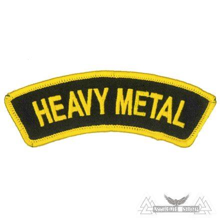 Heavy Metal Szövött felvarró