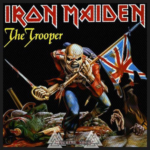 IRON MAIDEN - The trooper Szövött felvarró