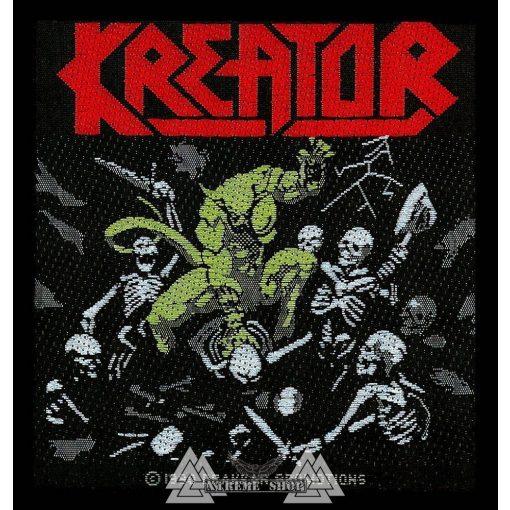 Kreator - Pleasure To Kill szövött felvarró