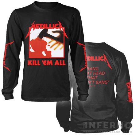 Metallica - Kill 'Em All Hosszú ujjú póló