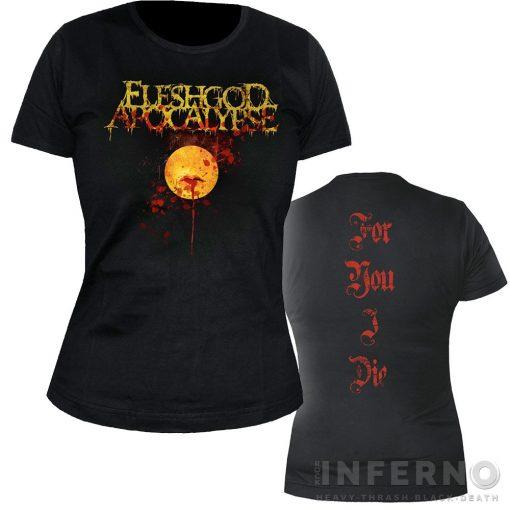 Fleshgod Apocalypse - For you I die Női póló