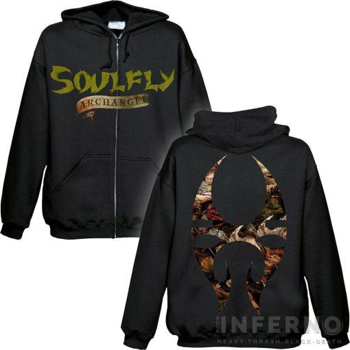 Soulfly - Archangel Cipzáras pulóver