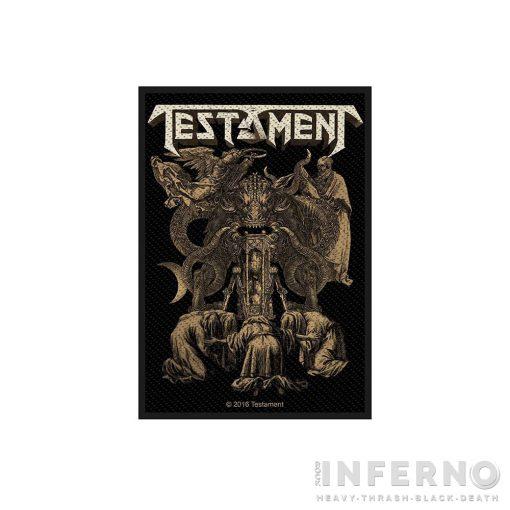 Testament - Demonarchy Szövött felvarró