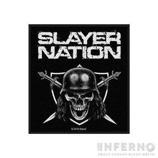 Slayer - Slayer Nation Szövött felvarró