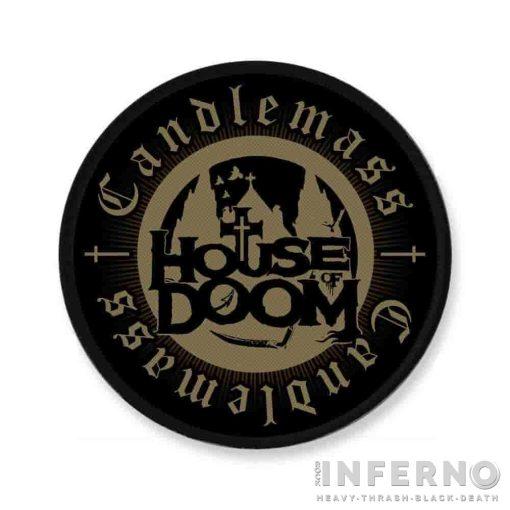 Candlemass - House of Doom Szövött felvarró