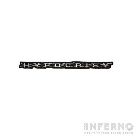 Hypocrisy - Logo felvarró