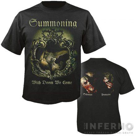 Summoning - With Doom We Come Póló