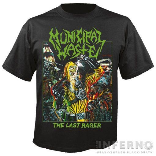 Municipal Waste - The last rager Póló