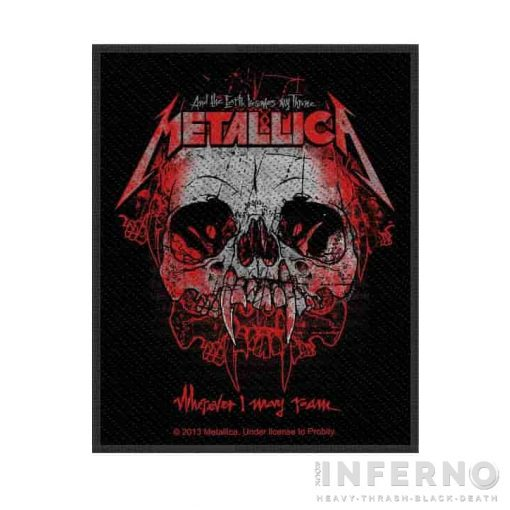 Metallica - Wherever I May Roam Szövött felvarró