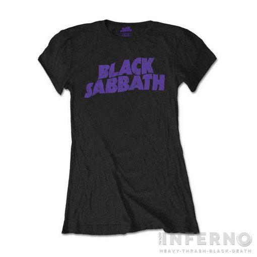 Black Sabbath - Vintage Logo Női póló