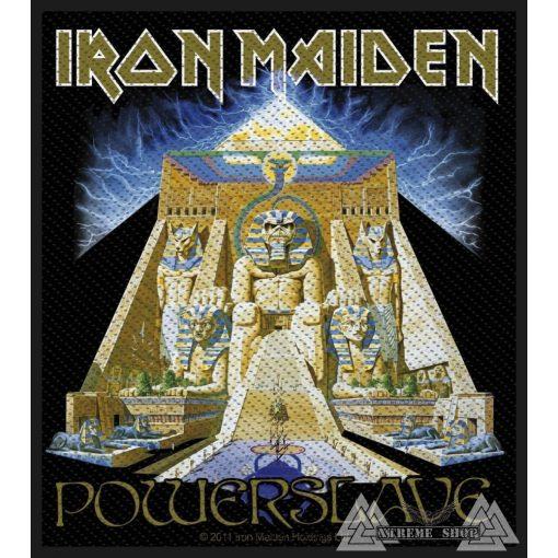 Iron Maiden - Powerslave Szövött felvarró