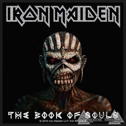 Iron Maiden - The Book Of Souls Szövött felvarró