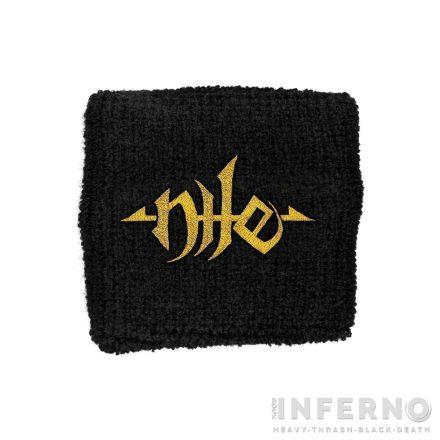 Nile - Logo csuklószorító