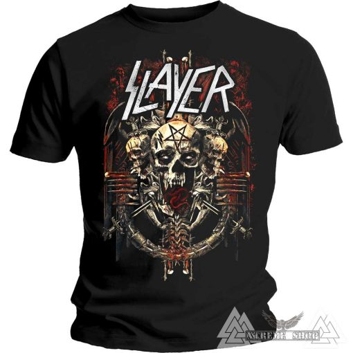 SLAYER PÓLÓ - DEMONIC ADMAT T-SHIRT